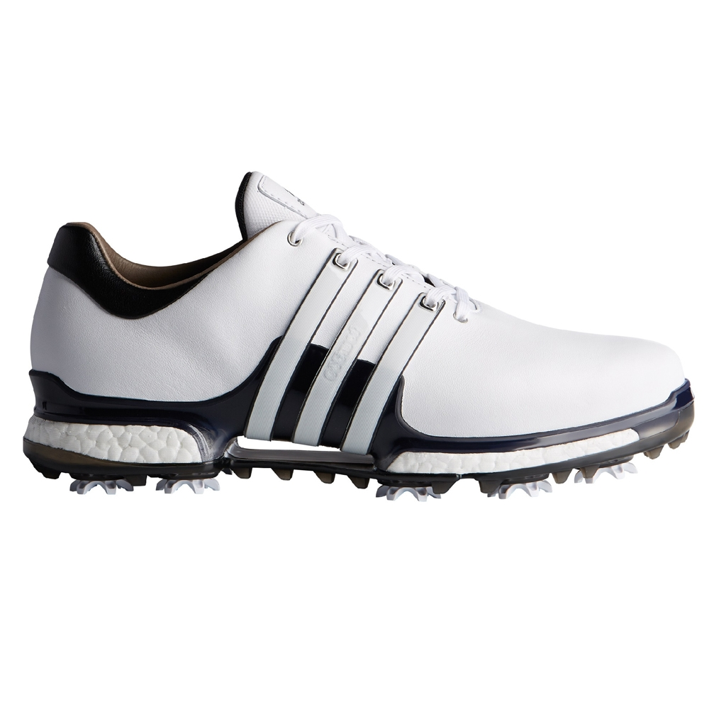 zapatos de golf adidas tour 360 boost black junior